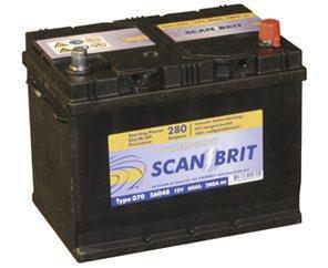 Attraktiva Berga kvalitets batteri, 12 volt, 60 Amp VF-64